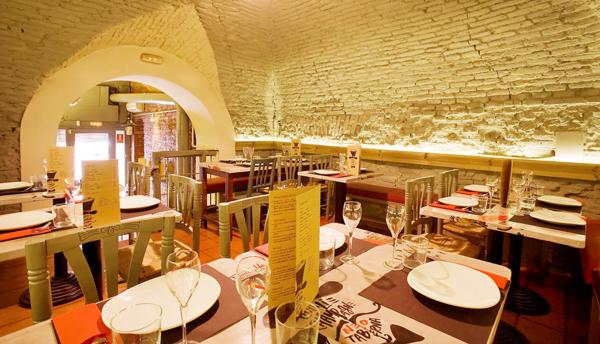 charlie champagne restaurantes la latina madrid
