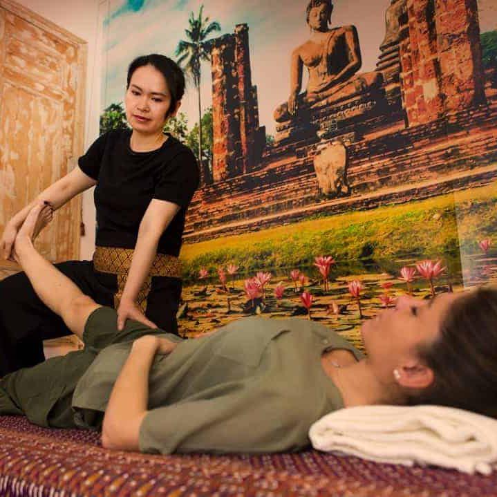 kinnaree thai  masaje massage madrid