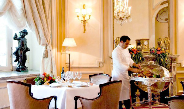 Cena por San valentín ene l Hotel Ritz de Madrid