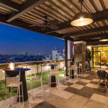 Terraza del Hotel Emperador – Refugio en pleno Centro de Madrid
