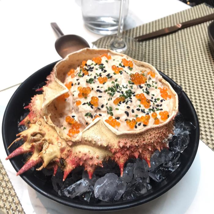 restaurante guillermina chamberi ensaladadilla centollo