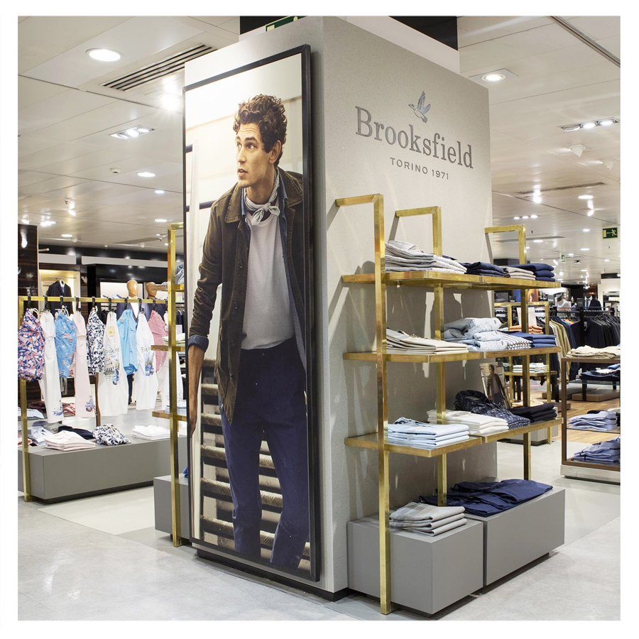 brooksfield moda estilo clasico casual madrid