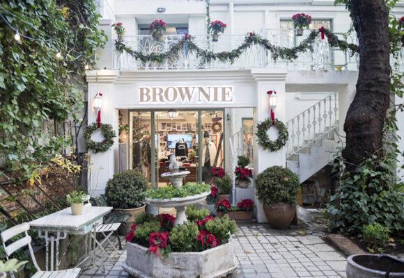 Brownie- la firma de moda femenina más joven en el Jardin de Hermosilla