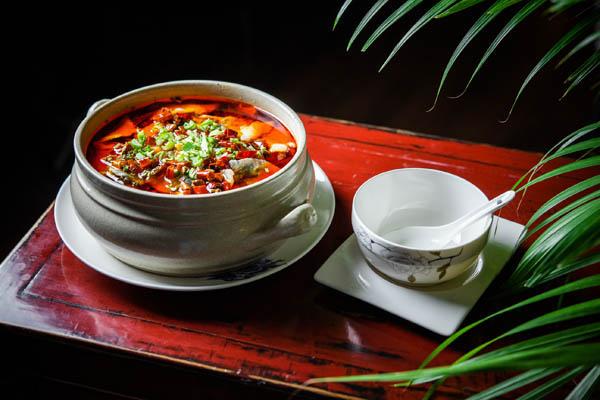 restaurante chino hutong sopa lubina