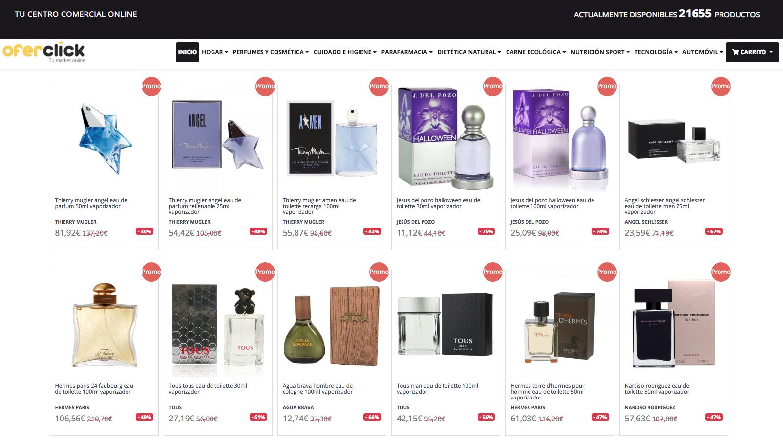 Tienda Online Oferclick