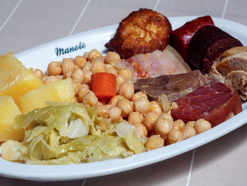 Cocido madrileño e Manolo Restaurante