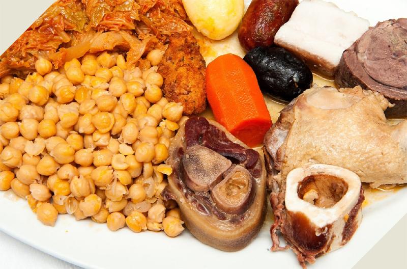 Pancipelao cocido madrileño