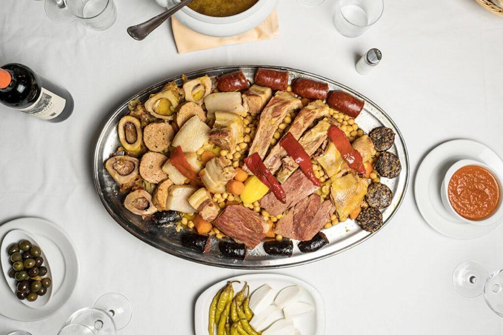 Cocido madrileño La Gran Tasca Madrid