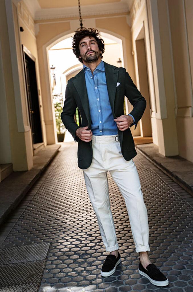 Anglomania moda masculina con  estilo