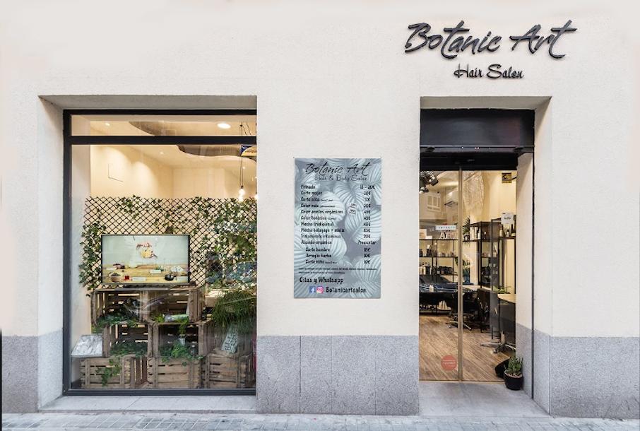 botanic art hair salon peluqueria madrid