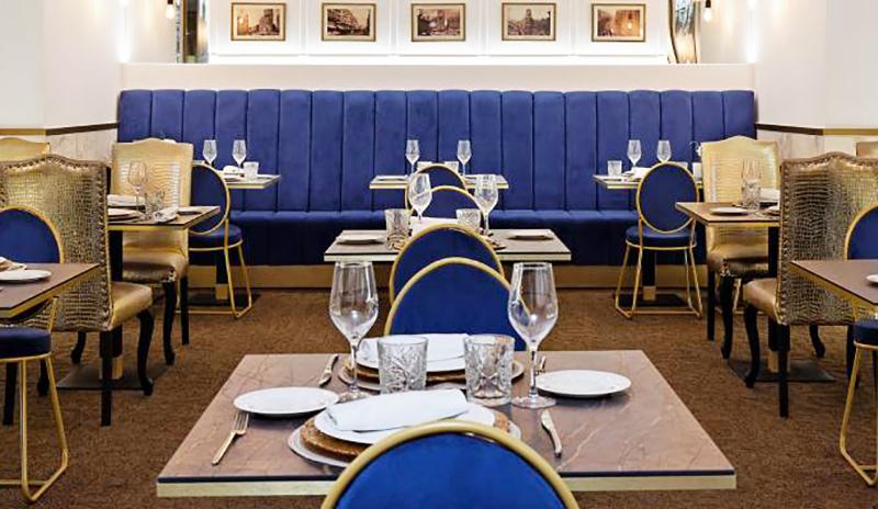 Comedor del Hotel Mayorazgo de Madrid