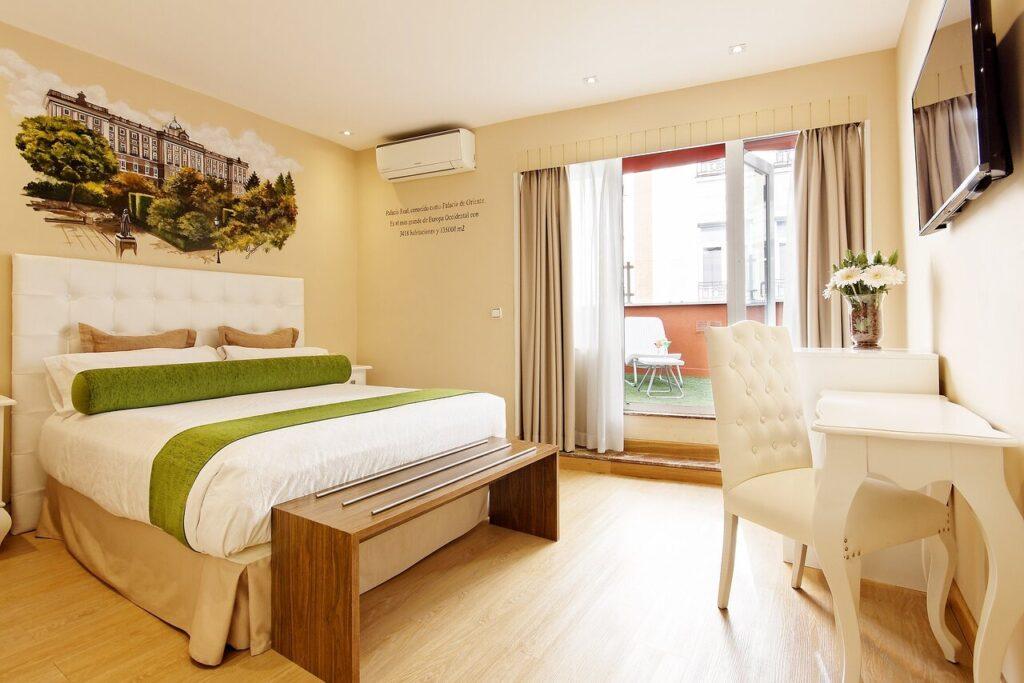 Habitacion del Hotel Mayorazgo Madrid