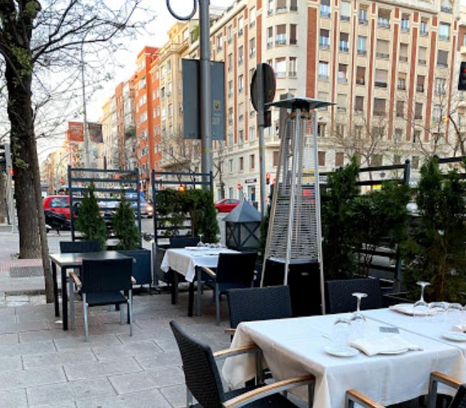 Rafa restaurante del Retiro con terraza