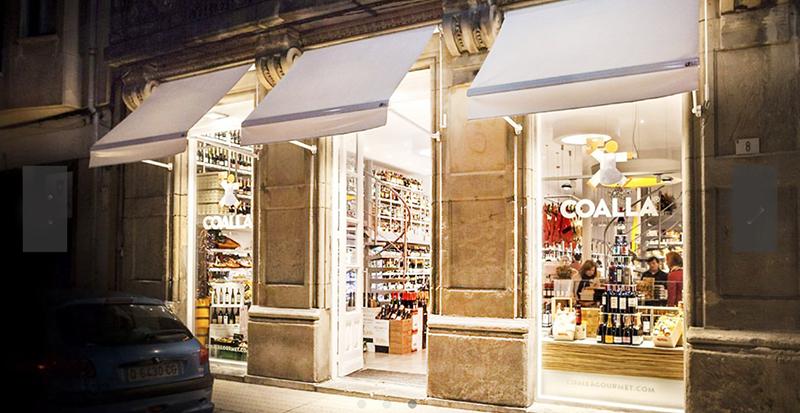 Coalla tienda gastronómica en Madrid