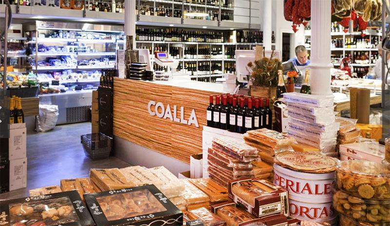 Coalla tienda gastronomica en Madrid