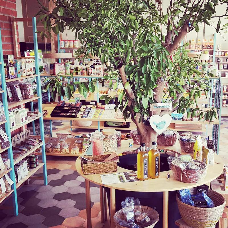 Cocómero interior tienda ecológica