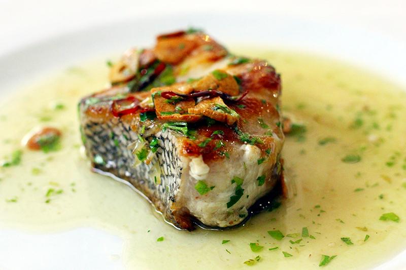 El mejor pescado mero en Materia Prima Madrid