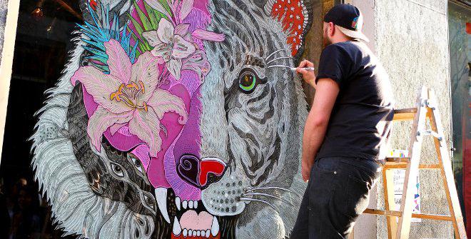 Arte en las fachadas de Madrid