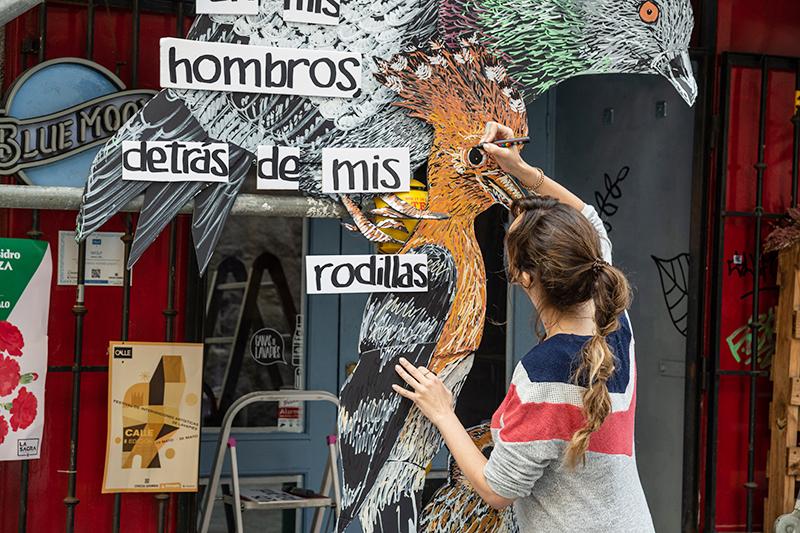 Art Street en las calles de Lavapies