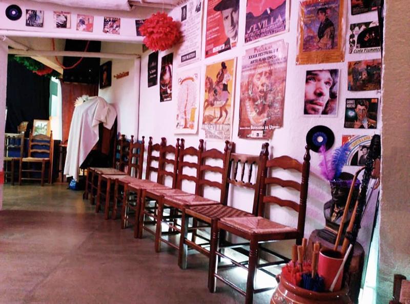 Sala quimera y su tablao flamenco de Mdrid