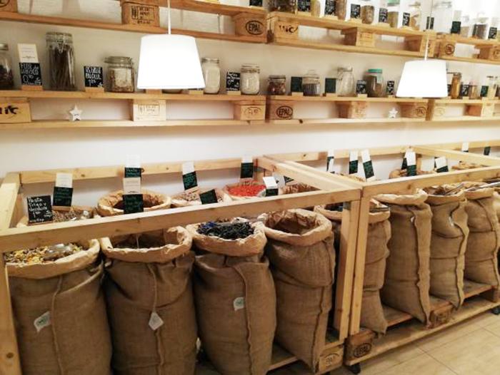 Pepita y Grano tienda ecologica de Madrid