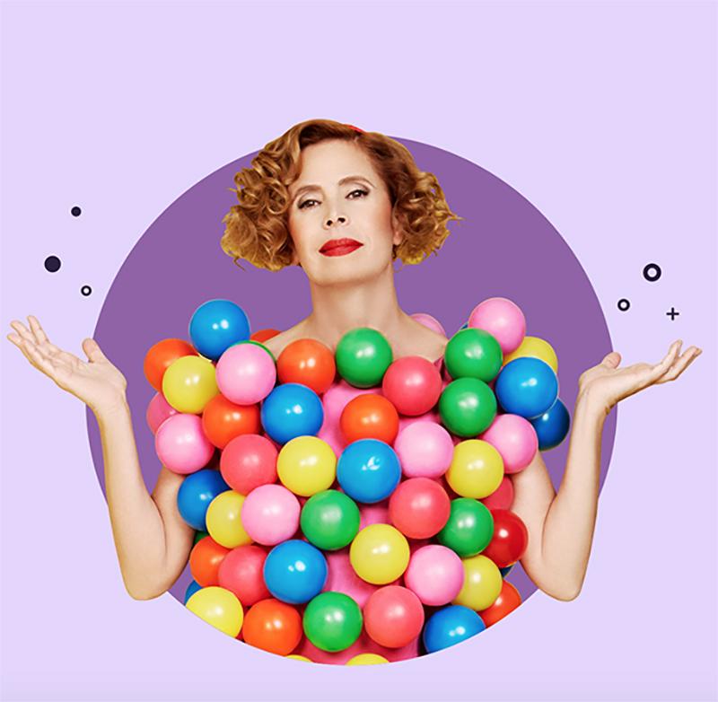 Agatha Ruiz d el Prada diseñadora de Sweet Space