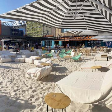 El Xiringuito by Casa Mono, el restaurante con playa en Madrid