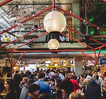 Mercado de San Ildefonso – el  espacio gastronómico más apetecible de Madrid