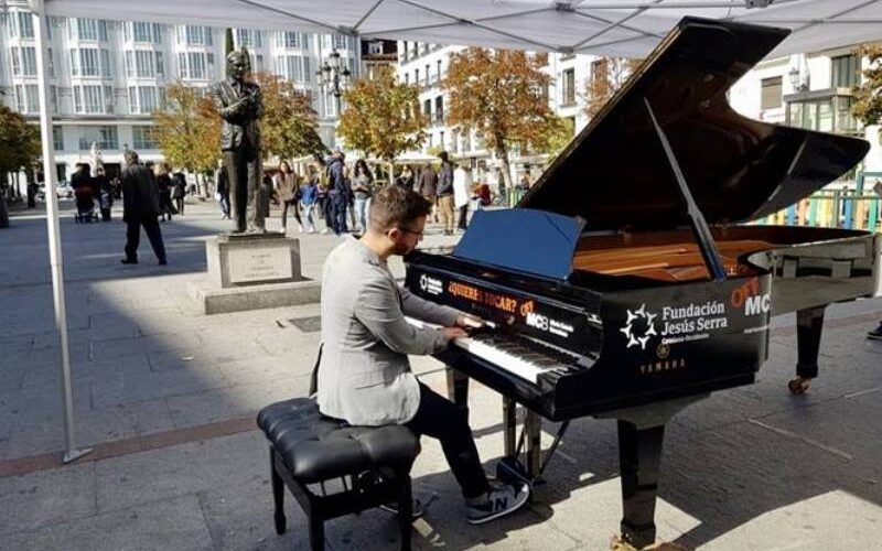 10 pianos de cola sonarán en las calles de Madrid